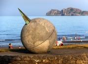 Portmarnock beach sculpture
