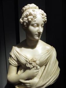 Portrait of an Unknown Woman, Lorenzo Bartolini, 1825, Florence