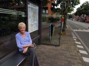 SR bus stop beginning of excursion--DSCF5434