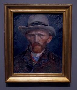 Van Gogh Self Portrait, Rijksmuseum