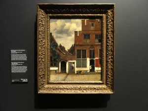 "View of Houses in Delft, known as ""The Little Street"" Johannes Vermeer, 1658"