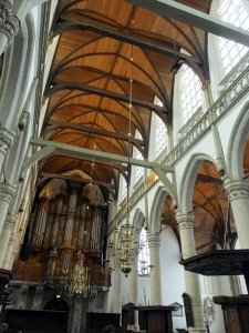 The Oude Kerk is rich with history and beauty.