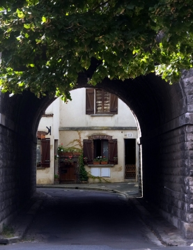 Narrow, winding streets lead to delightful scenes like this.