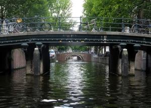 Canal bridges.