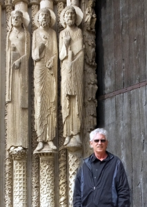 CS in front of Chartres Cathedral cropped flattened--DSCF9291