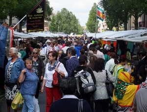 Open air markets can be found every day of the week. They sell anything and everything, from clothes to food to souvenirs.