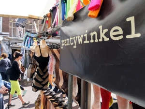 "The Dutch word for shop or store is ""winkel."""