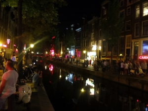 De Wallen by night.