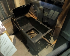 This baby carriage was used to smuggle contraband used to fight the Nazis.