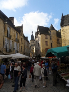 Our destination was Sarlat, a well-preserved Medieval town. We were among the hordes of tourists who visit here.