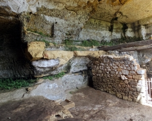 Inhabitants took advantage of natural caves and malleable stone to create homes that were practical and defensible.