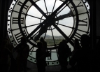 The Orsay lets you view Paris through the face of a giant clock, visible for blocks from the outside.