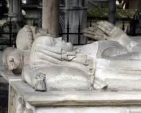 This is the final resting place of the tragic, doomed 11th century lovers, Abelard and Heloise. As the story goes, when Heloise's uncle found out about their illicit affair, he had Abelard castrated and sent Heloise to a nunnery. Their love letters after this became famous. In 1817 their bones were finally united here. Lovers now leave their own letters at the grave.