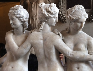 The Three Graces IN , sculptor unknown, 2nd c. BCE.
