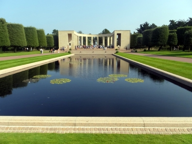 One is easily moved to tears at this powerful site. Every American who can should come here to honor the young heroes who died in the liberation of Europe.