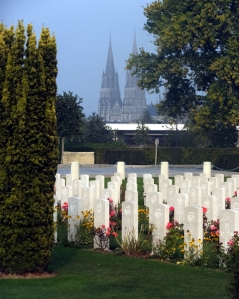 Bayeux is the site of the British military cemetery, as well as many other reminders of the Battle of Normandy. More on that later is this post.