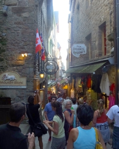 The crush of tourists in the narrow passages of the town can be maddening.