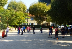 "In France, boules is also called ""petanque."" Italians call it ""bocce."""