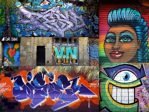 Some of the best graffiti in Europe.