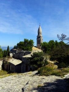 The Chapel of Our Lady of Beauregard is perched high in the hills overlooking Orgon.