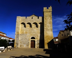 St. Sara is housed in the Church of the Saintes Maries de la Mer. Built from the 9th to the 12th centuries, it served not only as a church, but as a fortress and refuge. It has a fresh water well inside, for when the villagers had to take shelter from Saracen raiders.