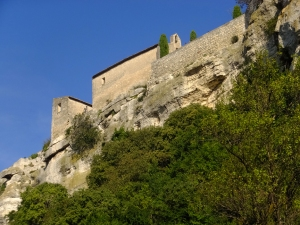 The powerful lords of Les Baux chose a dizzying height in the Alpille Mountains on which to build their fortified castle in the 10th century. They maintained power until the 15th century when the last heir died. The castle was largely destroyed by by King Louis XI, who didn't want any rebellious lords challenging his authority. By the 17th century the village had become a center for Huguenot Protestantism. It was badly damaged again in 1632 when Cardinal Richelieu put down a revolt against King Louis XIII.