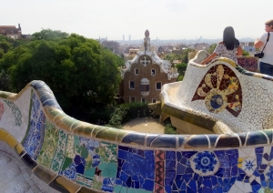 """One thing that makes Barcelona truly unique is the Catalan Modernista architecture. Park Güell (pronounced """"Parg Gway"""") is a wonderful example."""