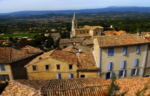 Bonnieux is a lovely Provençal hill town.