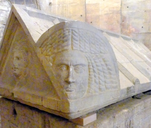 Some of the more elaborate sarcophagi are inside a church on the grounds.