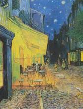 Van Gogh's Cafe Terrace at Night.