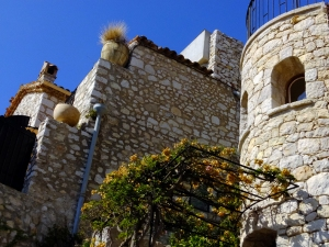 "Èze has been described as an ""eagle's nest"" because of its location 1,401 ft. above the Mediterranean."