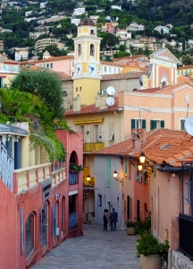 Villfranche-sur-Mer is a great town in which to wander and get lost.