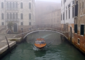 With no roads and no cars, Venice is a maze of canals and alleys, connected by hundreds of pedestrian bridges.