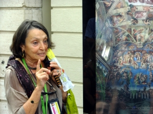 Our guide to The Vatican Museums spoke with such a heavy accent, she was difficult to understand. Still, the museums' artistic treasures are one of the great wonders of the world. Unfortunately, we discovered a system designed to squeeze the maximum amount of money out of the maximum number of tourists. We felt we would have done better not to have paid extra for a guided tour and to have had more leisure to examine the art on our own.