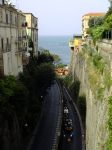 Sorrento is built on sheer cliffs and crevasses, making it a seriously multi-level town.