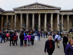 One could easily spend a month at the British Museum and still not see everything.