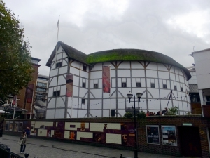 ...Shakespeare's Globe Theatre...
