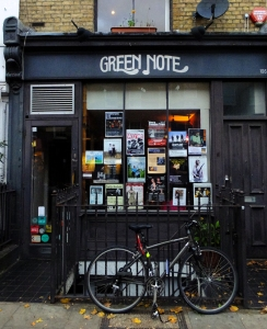 We wanted to hear some of the live music for which the city is justly famous. We found the Green Note.