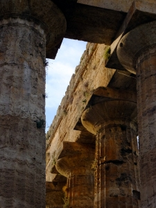 Doric capitals on the Temple of Hera.