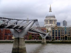 Just walking around is a pleasure in London.