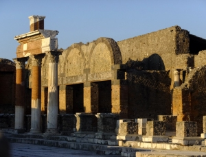 It was immediately clear that Pompeii was once a fairly large and prosperous town.