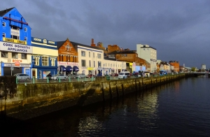 Cork is a gritty and industrial river town, but it's hip and friendly at the same time. The Pogues'