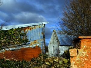 This farmhouse scene also caught my eye just outside of Kinsale.