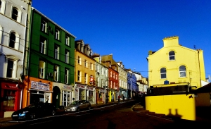 The Irish are not reluctant to splash their towns with paint!