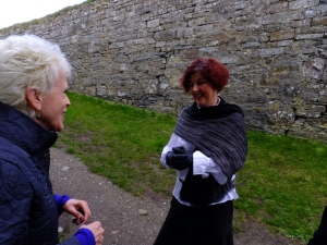 This delightfully-Irish employee of the fort helped bring our visit to life with stories about what we were seeing.