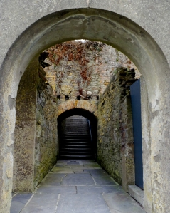 Around every corner we hoped to catch a glimpse of the White Lady of Kinsale, Ireland's most famous ghost. Click here to learn about her gruesome fate and that of her soldier husband. (Will open in a new window.)