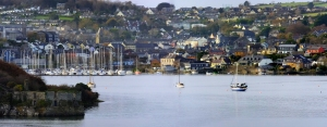 """The mouth of the River Bandon makes Kinsale a perfect natural harbor. In 1601, English forces defeated a combined Irish and Spanish force here in the pivotal Battle of Kinsale. It was the beginning of the end of what remained of the ancient Gaelic order. The defeat led to the """"Flight of the Earls"""" and the eventual Plantation of Ulster. For the next three centuries, England's domination of Ireland would be total."""