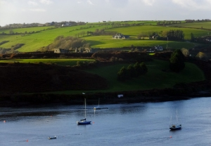 James Fort was constructed in 1607 across the River Bandon from Charles Fort.