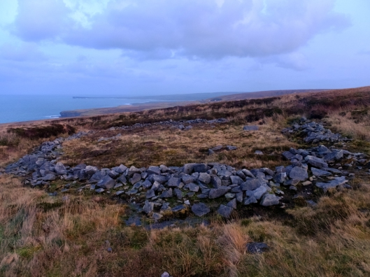Céide encompasses fields, houses and megalithic tombs concealed by the growth of blanket bogs over the course of many centuries.