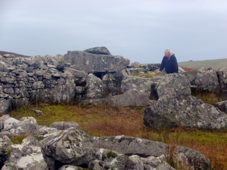 Once again, this isolated ancient site was unattended and completely open to the public.